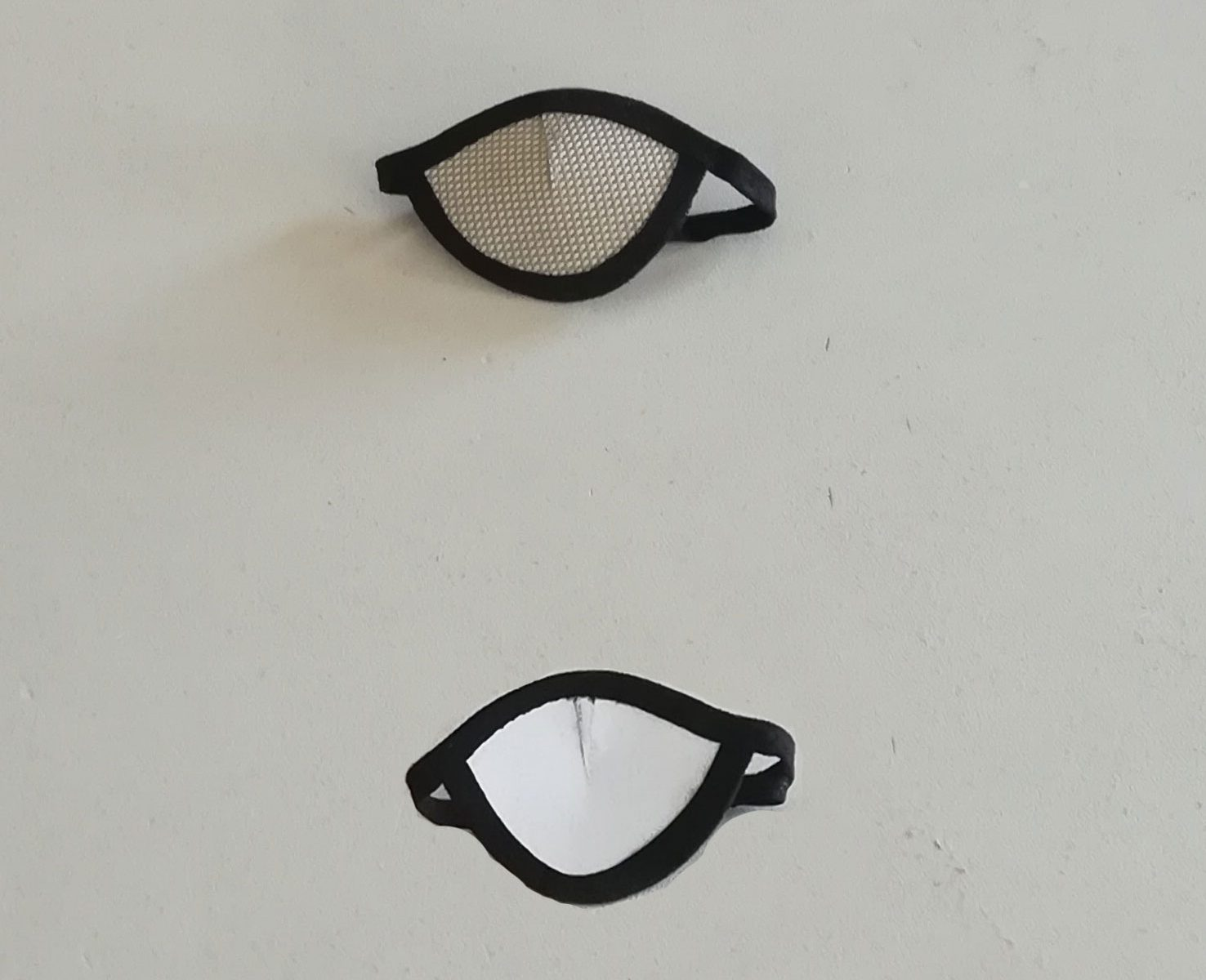Eye Patch Mesh Dicht