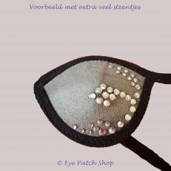 ooglapje-strass